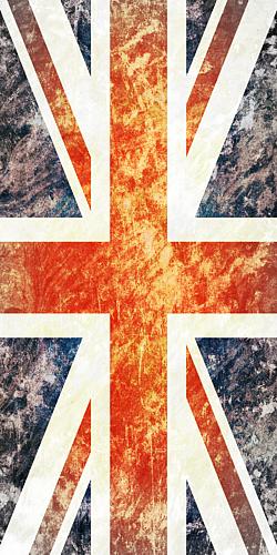 アンティーク風 イギリス国旗