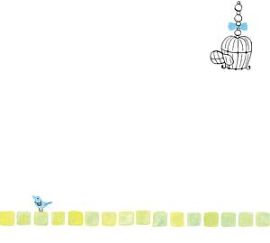 幸せを届けに旅に出る青い鳥
