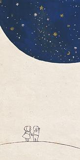夜空の惑星