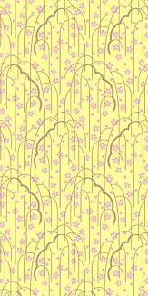 枝垂桜_黄色