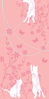 猫花_ピンク
