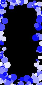 バブル-ブルー