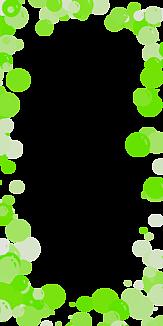 バブル-グリーン