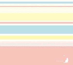 haruiro border pink