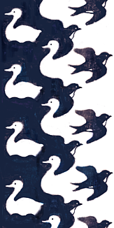 アヒルとツバメ