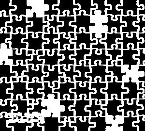 パズルケース(ホワイト)