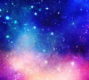 手帳ケース 宇宙柄