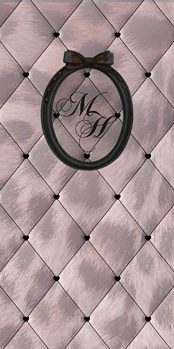 maiheeレオパードケース Pink