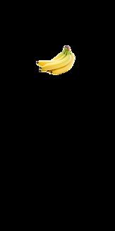 シンプル バナナ