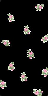 花柄ケース(透明)