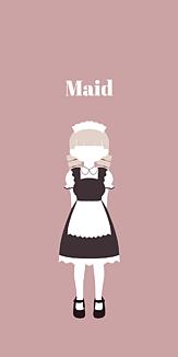 Maid ピンク