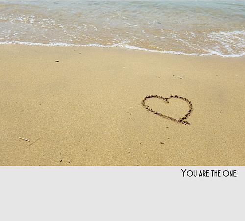 海の砂浜に・・・