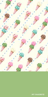 アイスクリームグリーンティー♥
