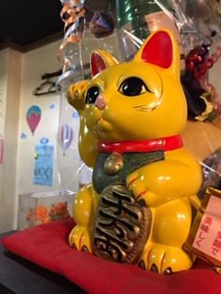 鉄板焼鶏いしちゃん 招き猫