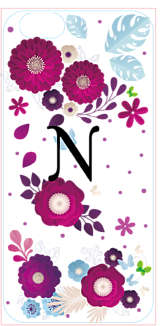 flower イニシャルN