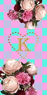 花束♡イニシャル『K』