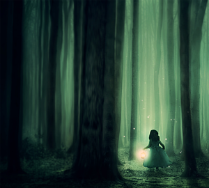 forest -girl -