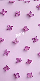 purple×flower