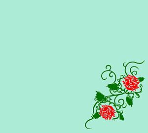 赤いバラ(タトゥー)②