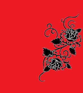 バラ・赤と黒(タトゥー)Ⅱ②
