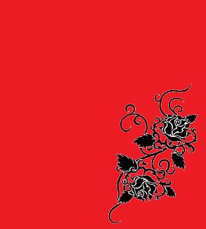 バラ・赤と黒(タトゥー)①
