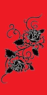 バラ・赤と黒(タトゥー)Ⅱ④