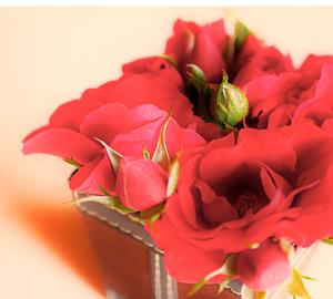 バラのアレンジフラワー 花束