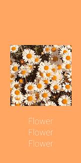 花 flower スマホケース