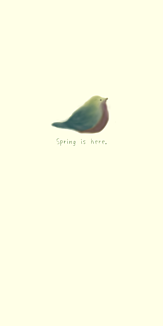 春がきた(アイボリー)
