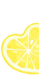 ハートレモン (白)