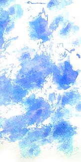 水彩 ブルー