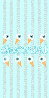 chocomint目玉アイス