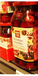 ドイツ さくらんぼ瓶