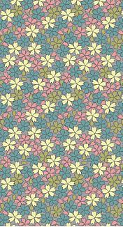 4色の桜 和柄