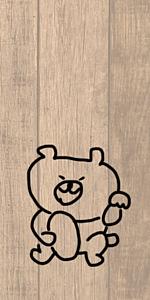 シュールなクマさん