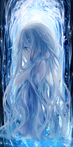 milkuro「森の光と泉/癒しの少女」ケース