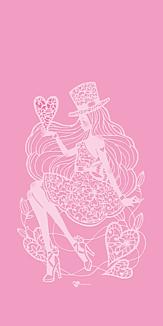 ハート・ピンク
