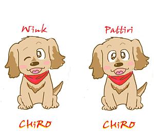 バンダナ☆チロ!パッチリ&ウインク(手帳タイプ)