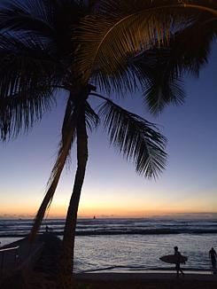 夕焼けビーチ