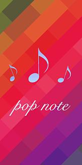 Pop note カラフル