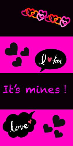 it's mines!