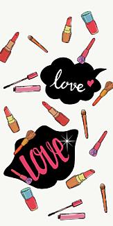 LOVE MAKE UP(White)