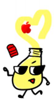 まよらぶリンゴマーク(iPhone)
