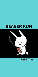BEAVER KUN RABBITver にんじんブルー2