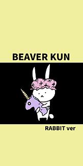 BEAVER KUN RABBITver イエロー2