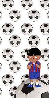 サッカー少年⚽️ ホワイト