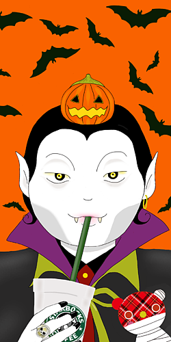 ハロウィン 吸血鬼
