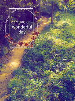 素敵な日々を(ノスタルジックな森)