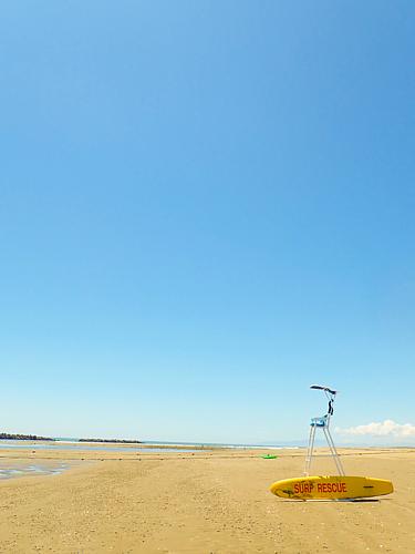 夏の休日(青空と海)
