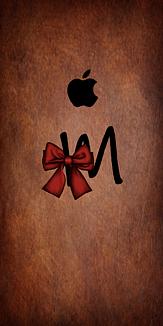 アルファベットシリーズ 牛皮柄 M